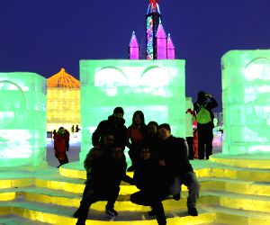 CHINA-HEILONGJIANG-HARBIN-ICE & SNOW FESTIVAL