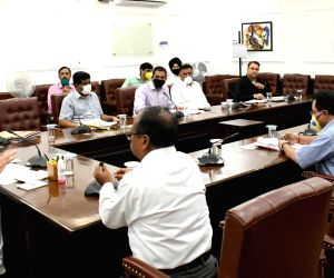 Manohar Lal Khattar attends video conference meet chaired by Nitin Gadkari with CMs of all states