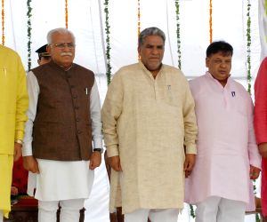 Swearing-in ceremony of Haryana ministers