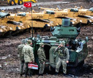 TURKEY HATAY TURKISH TROOPS SYRIA