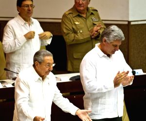 CUBA HAVANA NATIONAL ASSEMBLY RAUL CASTRO