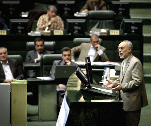 IRAN TEHRAN NUCLEAR PARLIAMENT SALEHI