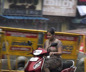Rain lash Chennai