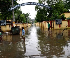 : Patna: Flooded roads
