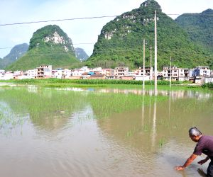CHINA GUANGXI FLOOD ALERT