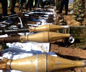 AFGHANISTAN HELMAND TALIBAN MILITANTS CAPTURED