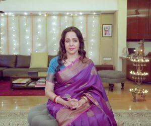 Free Photo: Hema Malini unveils Navratri songs on her birthday