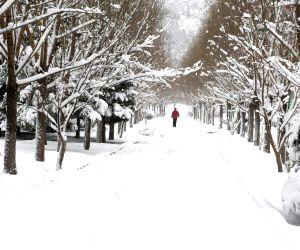 CHINA INNER MONGOLIA SNOWFALL