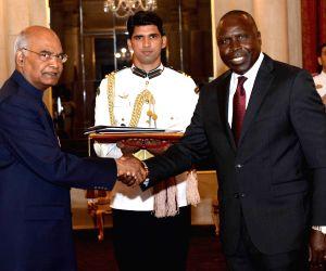 High Commissioner of Kenya presents his credentials to President Kovind