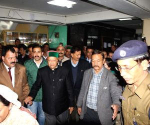 Himachal CM discharged from hospital
