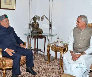 Himachal Pradesh Governor-designate with CM