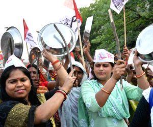 HAM workers' demonstration