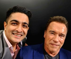 Free Photo: Arnold Schwarzenegger's special gesture for Indian YouTube star