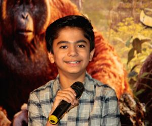 Press conference of film The Jungle Book