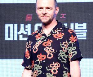 Hollywood actor Simon Pegg