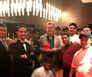 Christopher Nolan with Wasabi Delhi team