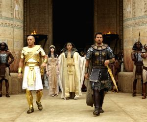 Hollywood movie 'Exodus: Gods and Kings' stills
