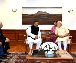 Home Minister of Bangladesh Asaduzzaman Khan calls on PM Modi