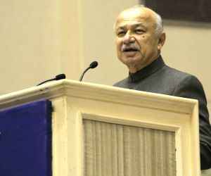 Sushil Kumar Shinde during Annual Directors General of Police Conference