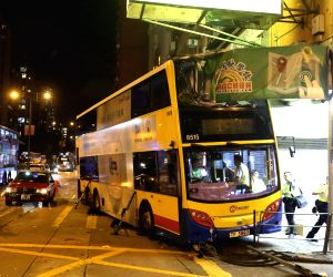 CHINA-HONG KONG-BUS ACCIDENT