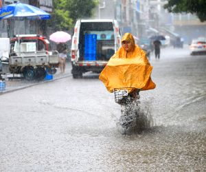 CHINA WATERLOGGING WARNING