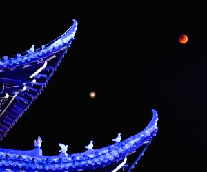 CHINA-LUNAR ECLIPSE