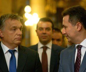 HUNGARY BUDAPEST MACEDONIA PM VISIT
