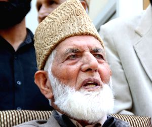 Geelani's press conference