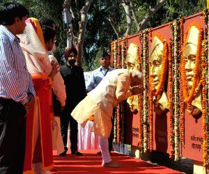Modi pays homage to Bhagat Singh, Rajguru and Sukhdev