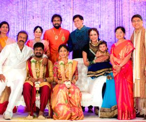 Manchu Manoj engagement ceremony