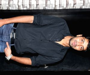 Nikhil during a press meet
