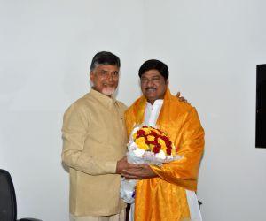 Rajendra Prasad calls on Andhra CM