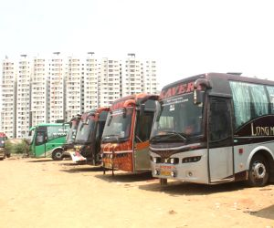 Hyderabad -Vijayawada bus operators go on strike