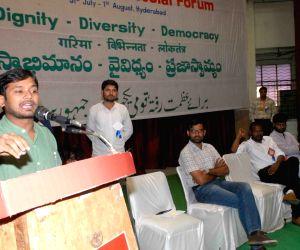 Kanhaiya Kumar during All India Thematic Social Forum