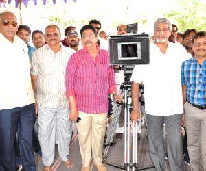 Hyderabad: Launch of film Anaganaga Oka Chitram
