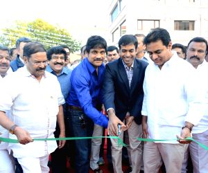 Nagarjuna,KTR launches Shooting center & ANR Gardens at FNCC
