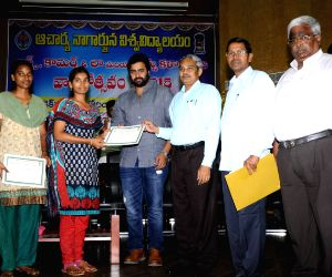 Nagarjuna university anniversary celebration