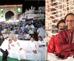 Ghulam Ali performs at Charminar
