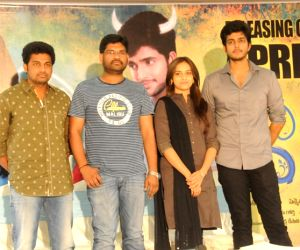 Press meet of Telugu movie Varadhi