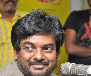 Puri Jagannadh launched a song of Telugu movie Andhra Pori at Radio Mirchi