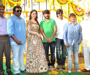 Launch of Telugu movie Bengal Tiger