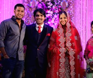 Ali borther Khayyym's marriage reception ceremony