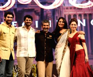 Prabhas acted Bahubali movie audio launch - stills