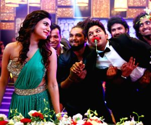 Stills of film S/o Satyamurthy