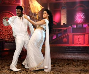 Stills of Telugu movie Ganga