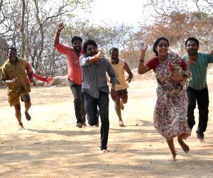 Hyderabad: Stills of telugu movie Vetakodavallu