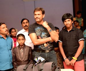 Success meet of Telugu movie Father