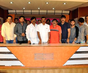 Telangana Cine Stars cricket match press meet