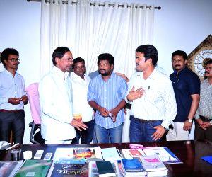 Telangana state Chief Minister K Chandra Shekar Rao released Bandook audio