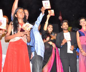 Telugu movie Rudrama Devi audio release